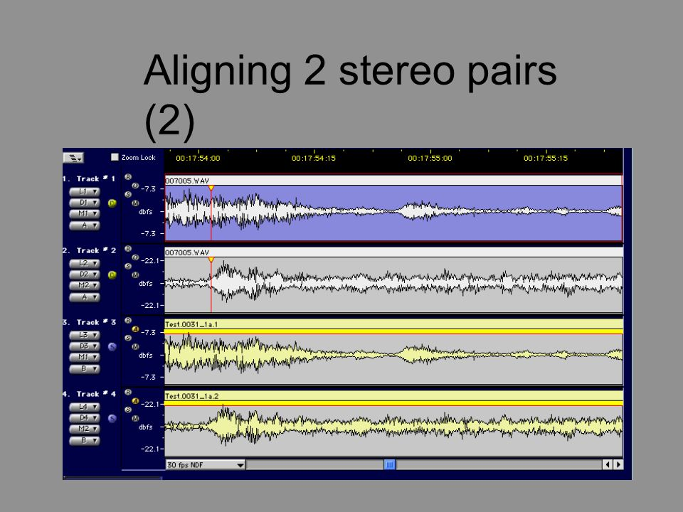 Aligning 2 stereo pairs (2)