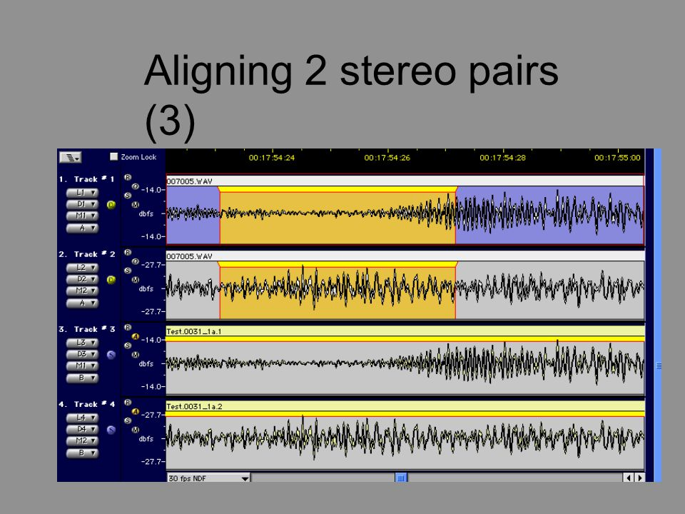 Aligning 2 stereo pairs (3)