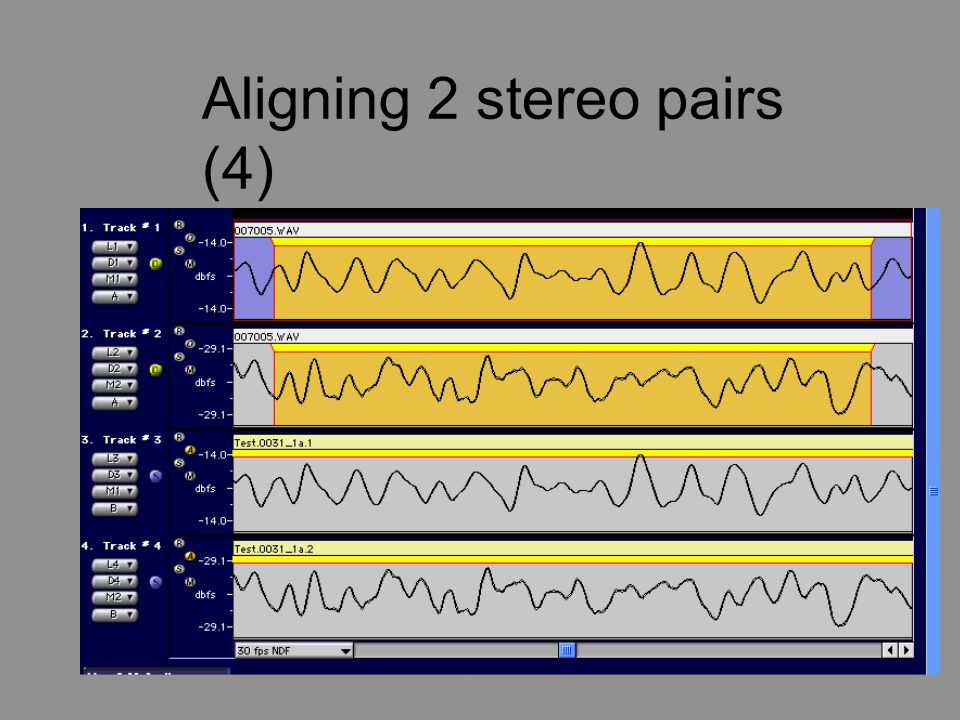 Aligning 2 stereo pairs (4)