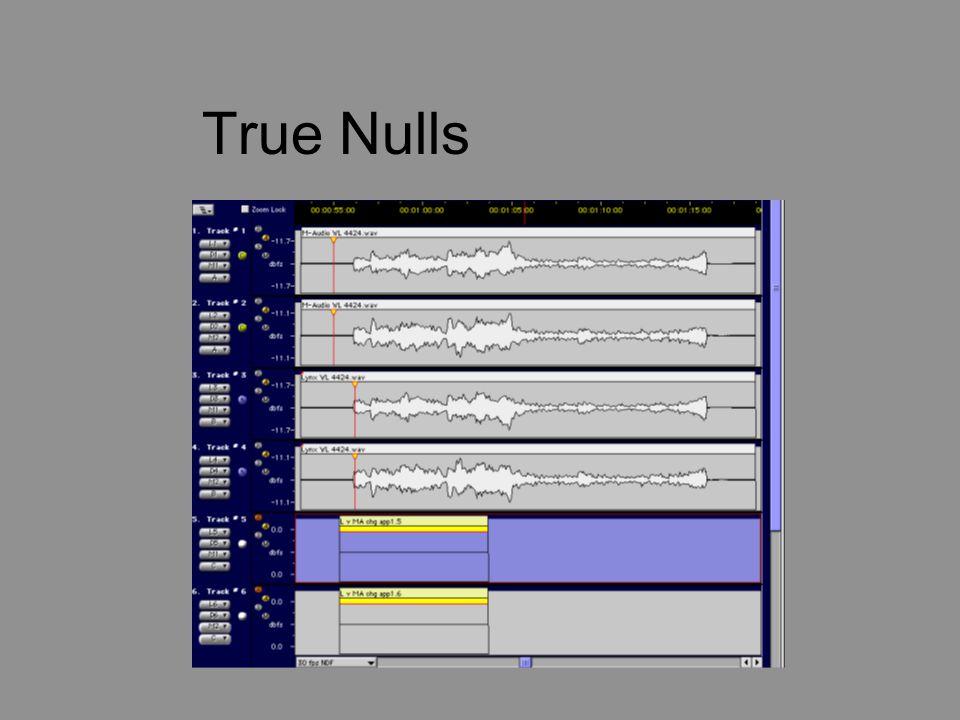 True Nulls