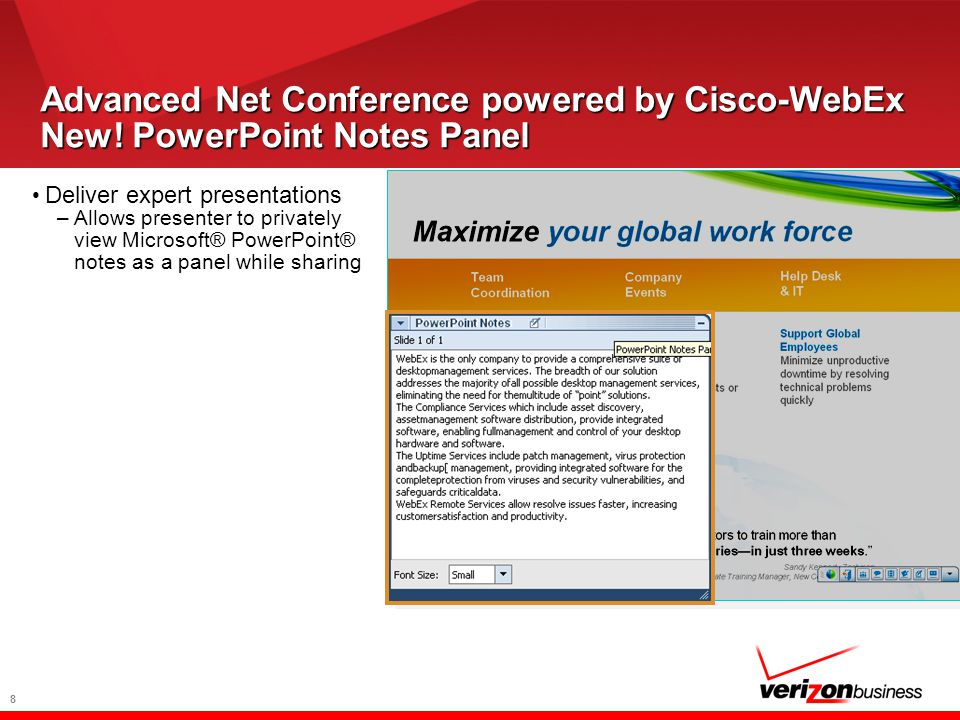 8 Advanced Net Conference powered by Cisco-WebEx New.