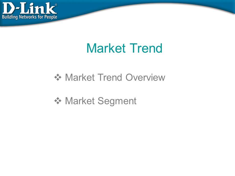 Market Trend  Market Trend Overview  Market Segment