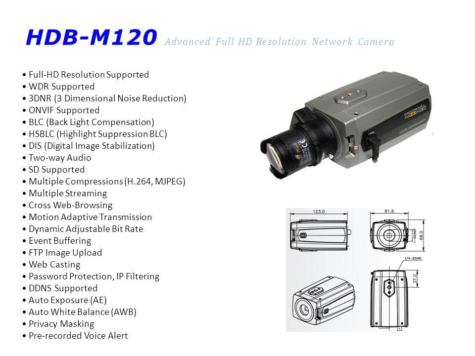 VTD-MV20V(R)210NP H.264/MJPEG Dome-type 2M Network Camera H.264 /MJPEG, Dual Stream IP Camera H.264 / MJPEG encoding & transmission Auto Day / Night function 1/2.8 Sony Progressive Scan CMOS Color, Min.