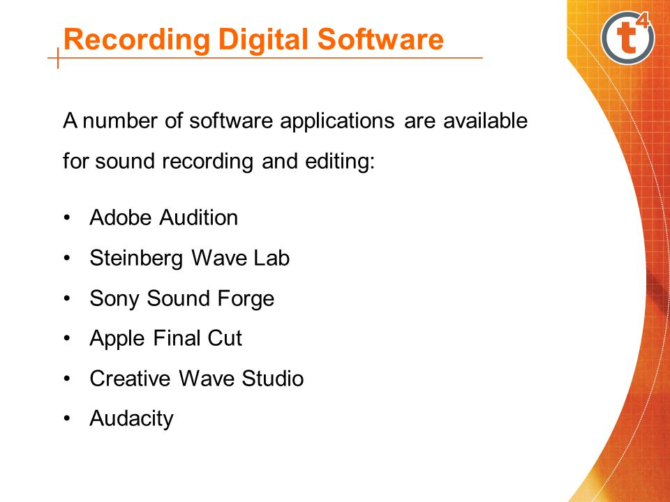 Audacity is a free to use multi-track digital audio application.