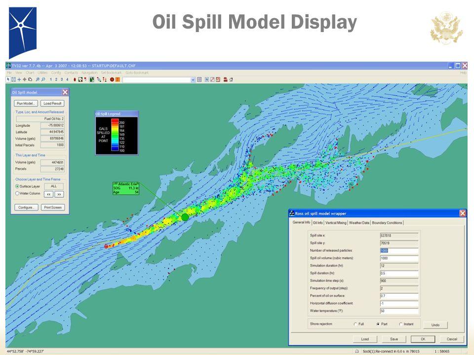 22 Oil Spill Model Display
