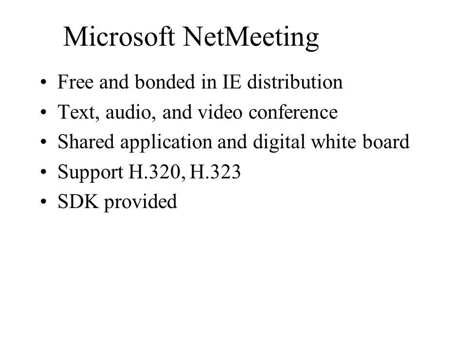 導論 Intro. Three kinds of network applications. –Multimedia conference, AOD/VOD, Web search Hardware required –IBM PC with sound card and video input d