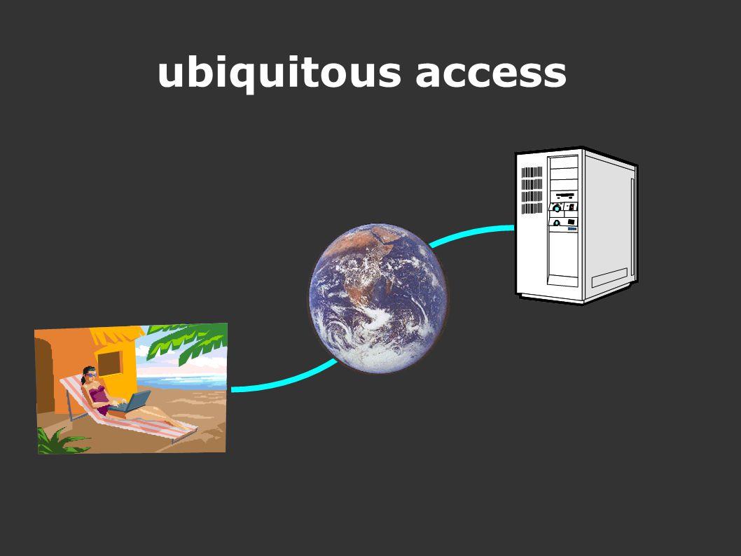 ubiquitous access