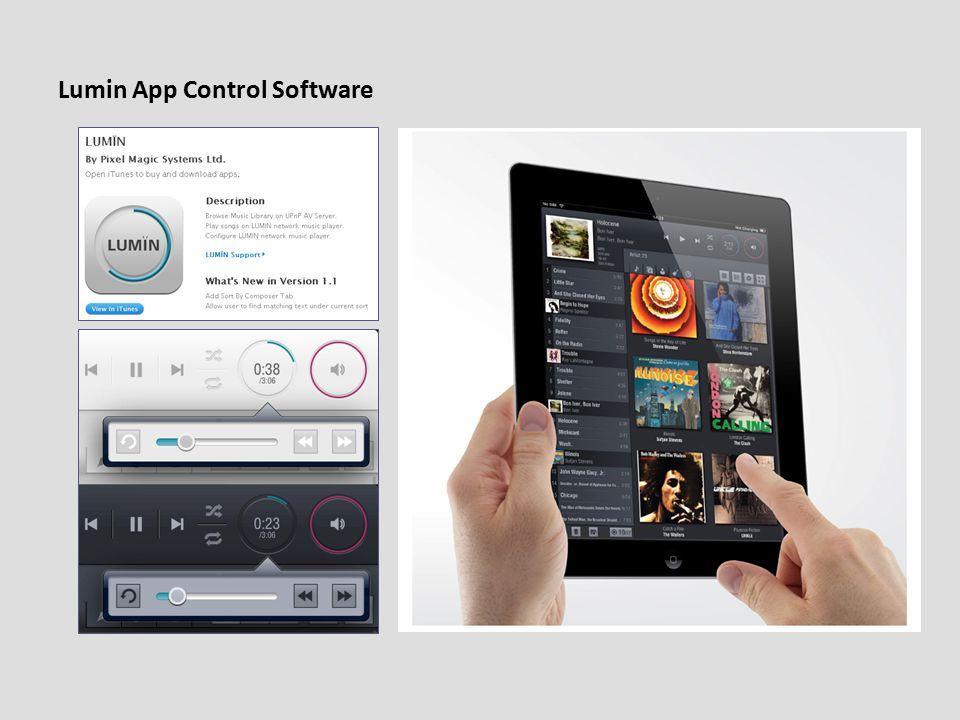 Lumin App Control Software