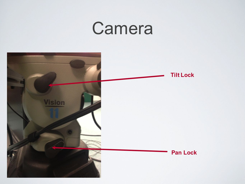 Camera Tilt Lock Pan Lock