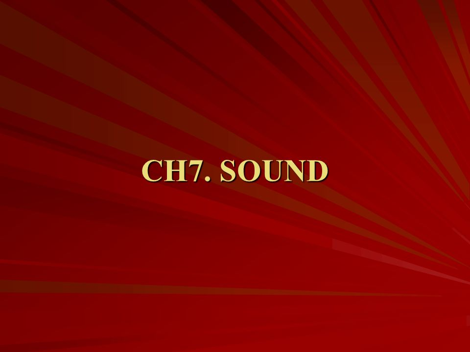 Buzz Words: Sources of Film Sound Onscreen sound- emanates from a source that we can see.