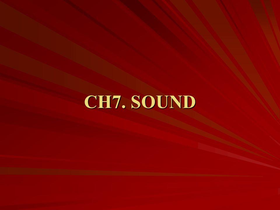 CH7. SOUND