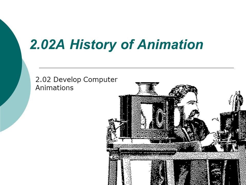 How are the types of computer animations used.