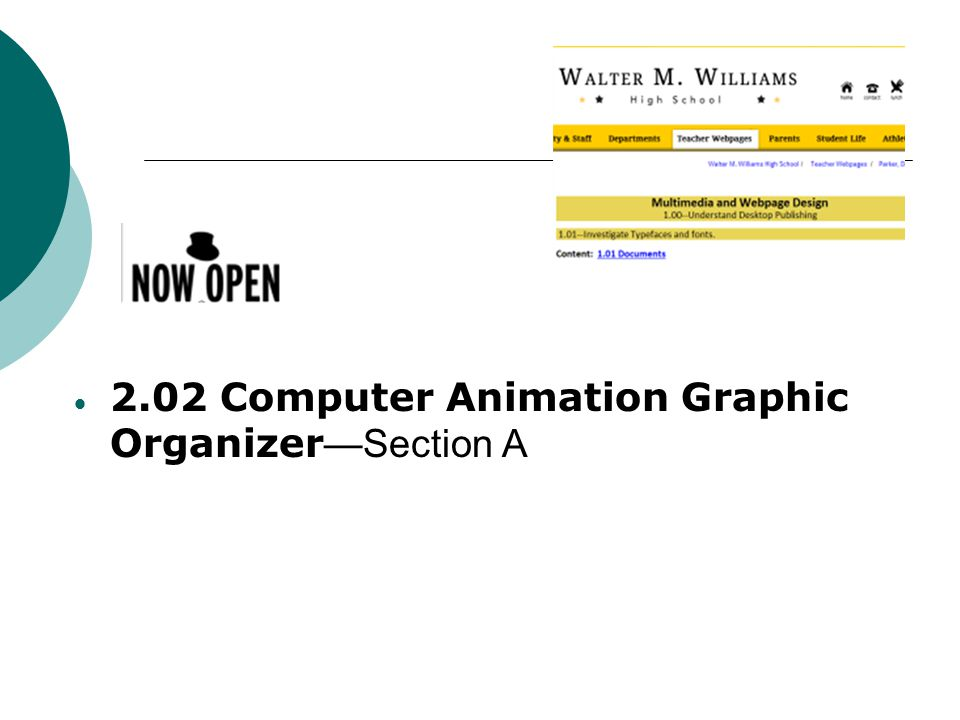 Review Methods and Uses of Computer Animations  Methods of computer animations  Frame-by-Frame Animation  Morphing Animation – Uses shape tweening.