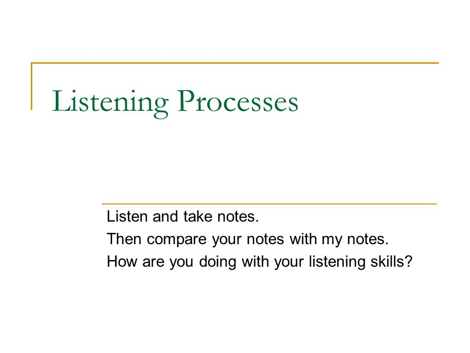 Listening Improvement of student listening skills: Combination of extensive and intensive listening material and procedures.