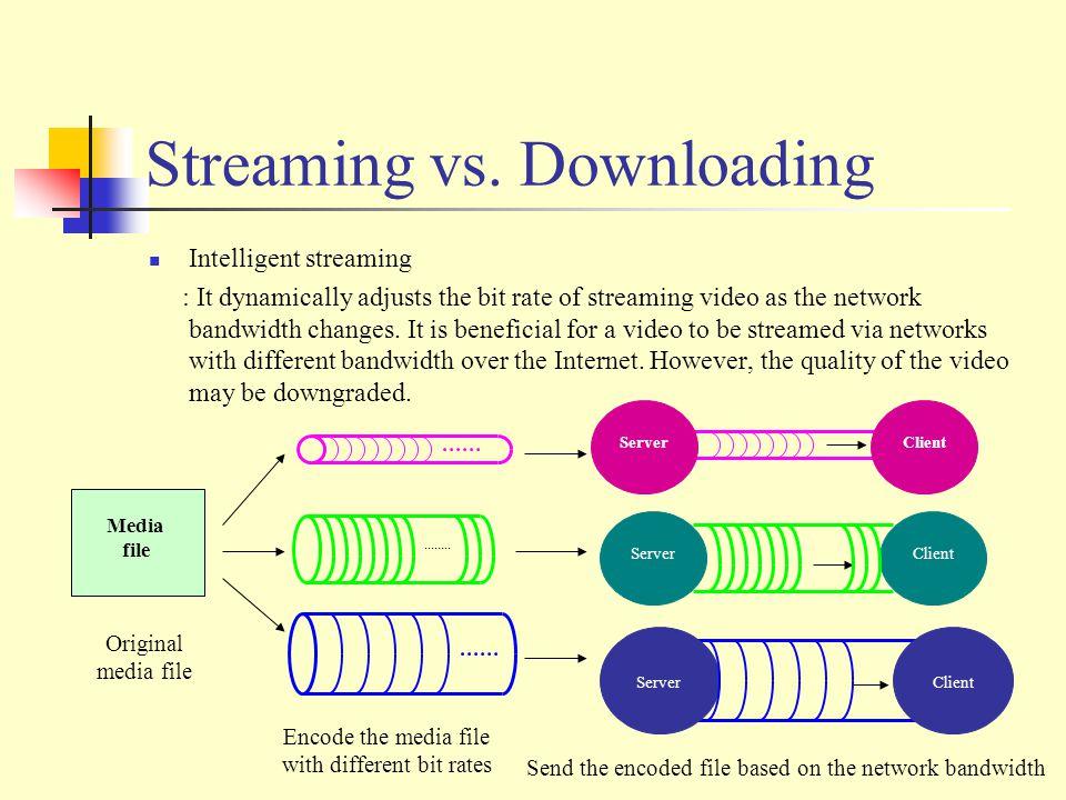 Streaming vs.
