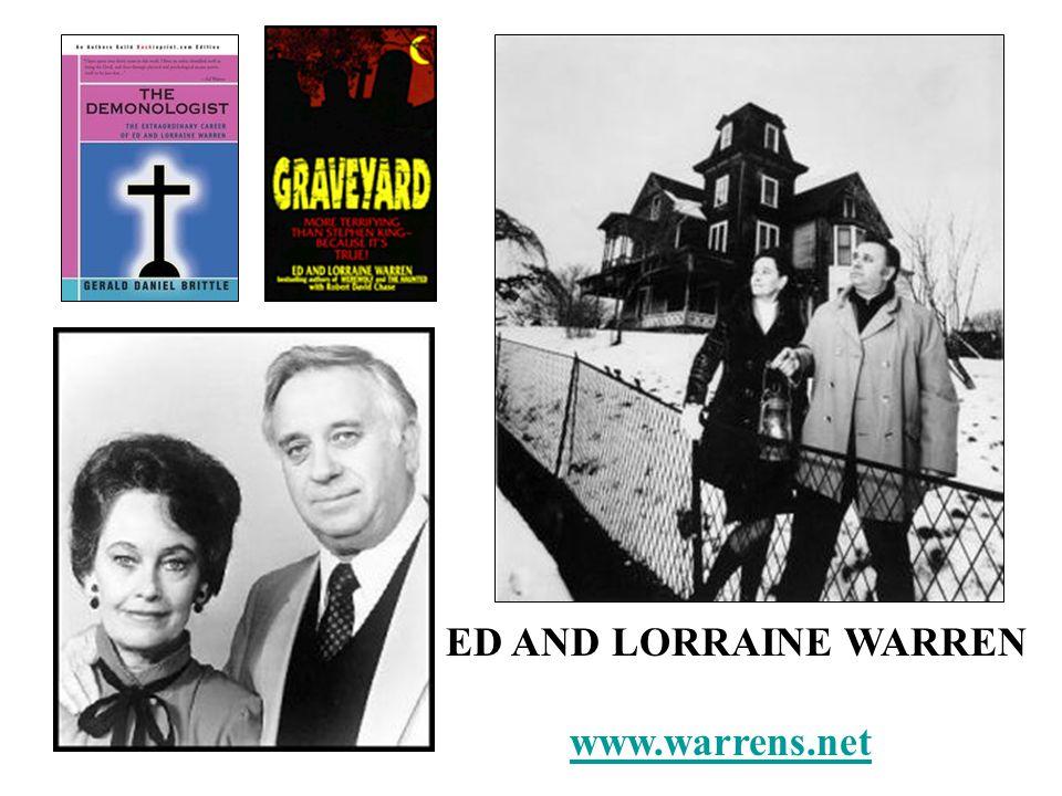 ED AND LORRAINE WARREN www.warrens.net