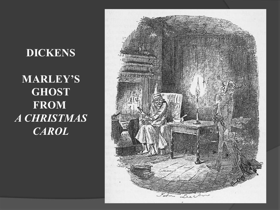 DICKENS MARLEY'S GHOST FROM A CHRISTMAS CAROL