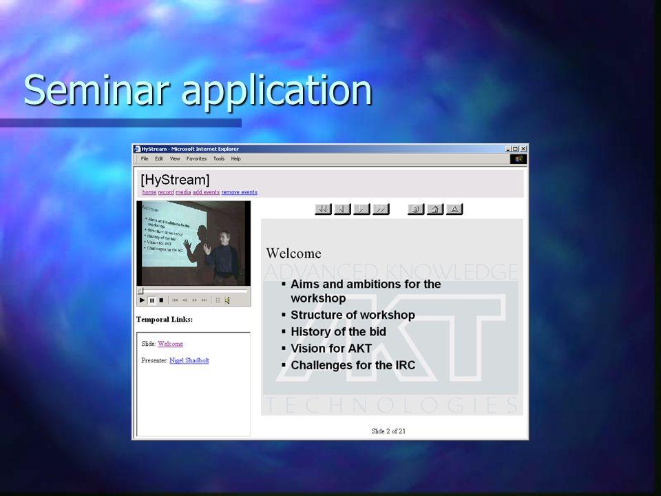 Seminar application