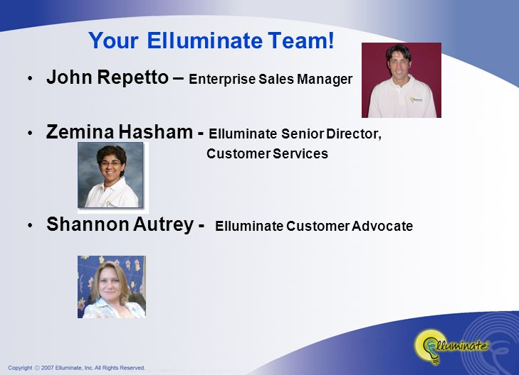 Your Elluminate Team.