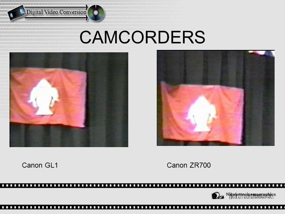 CAMCORDERS Canon ZR700Canon GL1