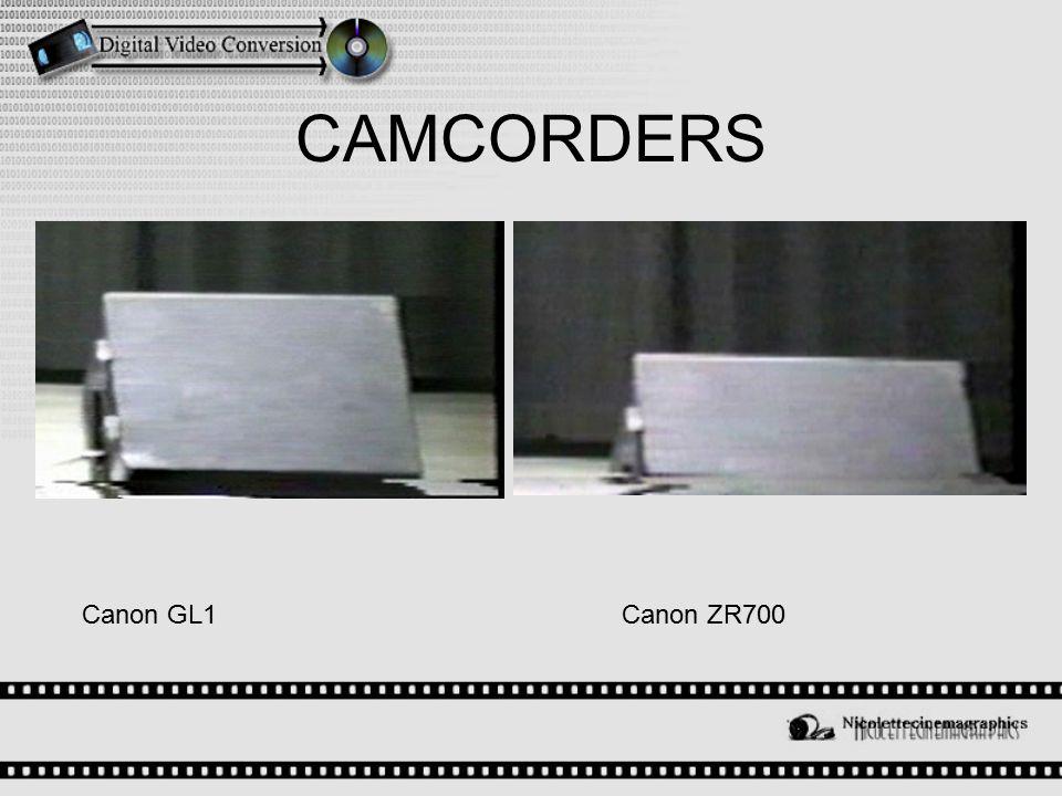 CAMCORDERS Canon GL1Canon ZR700