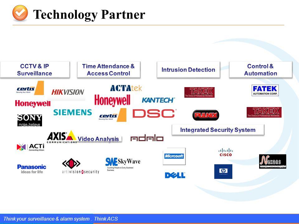 www.splendIDtechnology.com.vn 5 Confidential Property of SplendID Technology, JSC. Technology Partner Think your surveillance & alarm system. Think AC