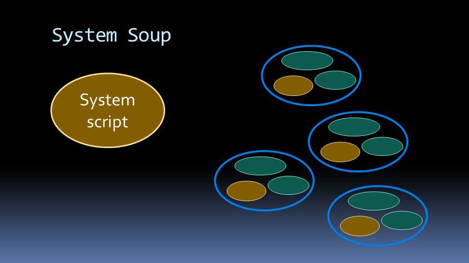System Soup System script
