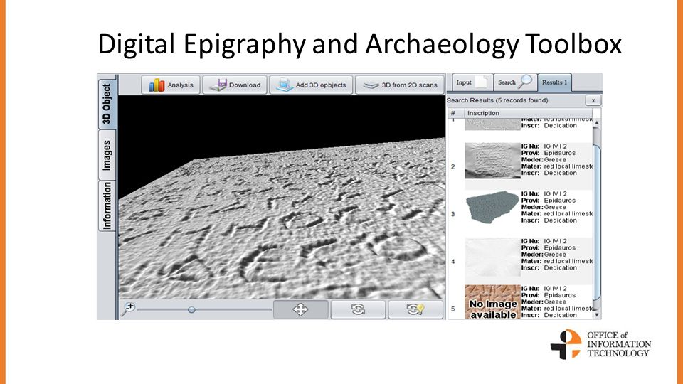Digital Epigraphy and Archaeology Toolbox