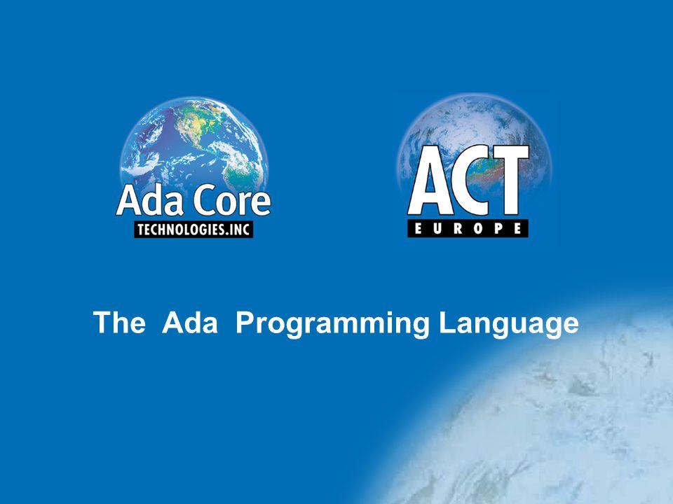 The Ada Programming Language