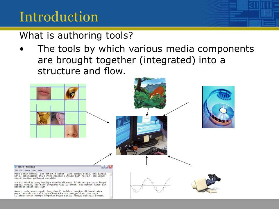 Metaphor All multimedia tools are based on a metaphor.