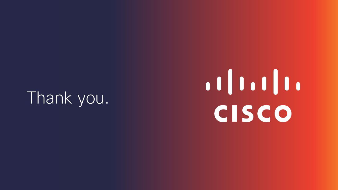 Cisco Confidential 64 © 2013-2014 Cisco and/or its affiliates. All rights reserved.  MediaSense 10.0 SRND  http://www.cisco.com/en/US/docs/voice_ip_