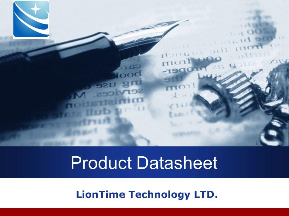 Company LOGO Product Datasheet LionTime Technology LTD.