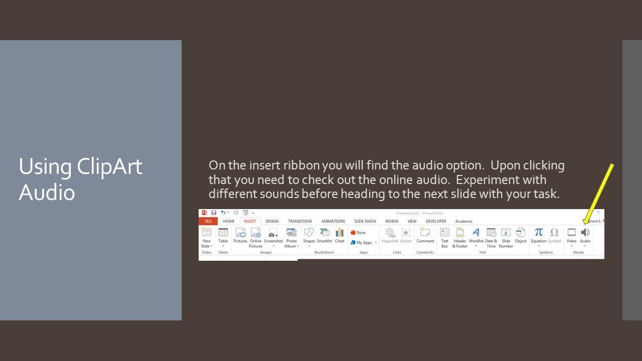 Adding Audio IP10 Sept. 17 th Mr. Mellesmoen