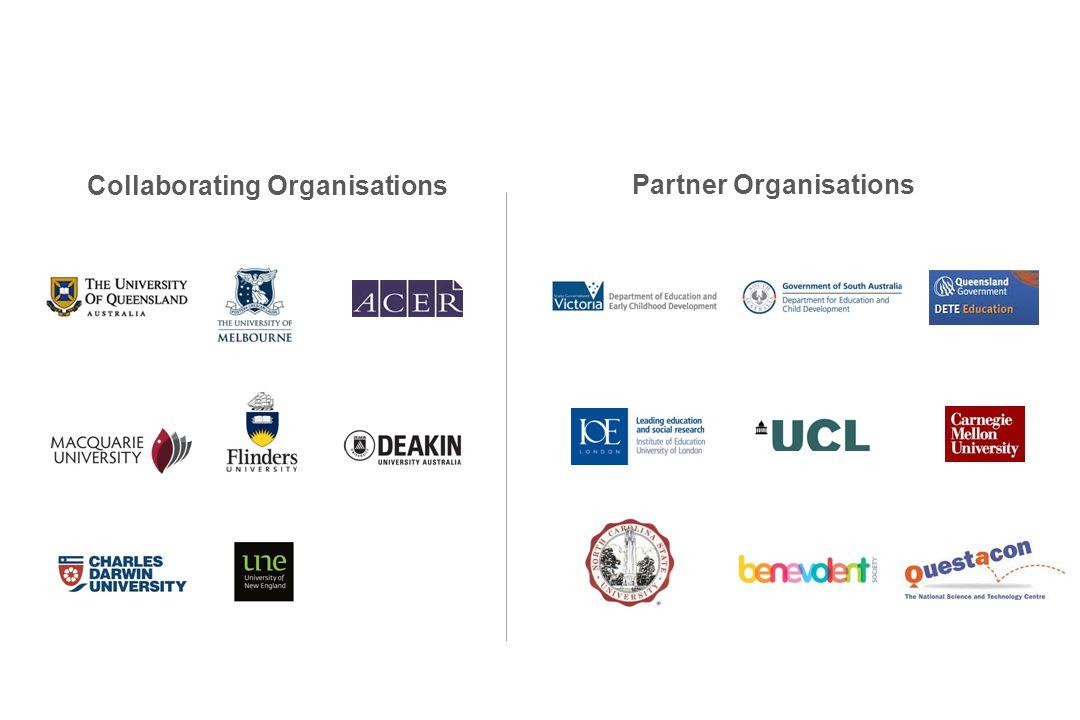 Collaborating Organisations Partner Organisations