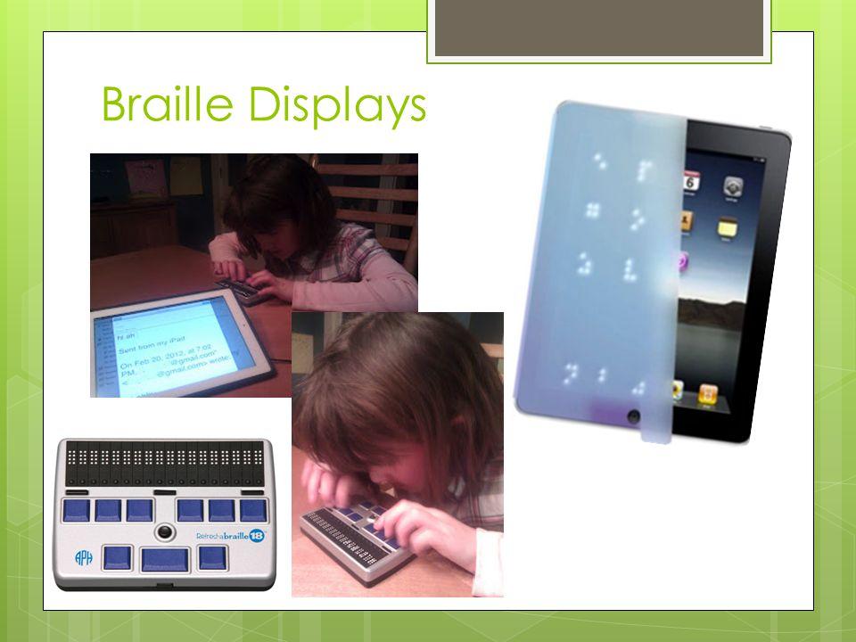 Braille Displays