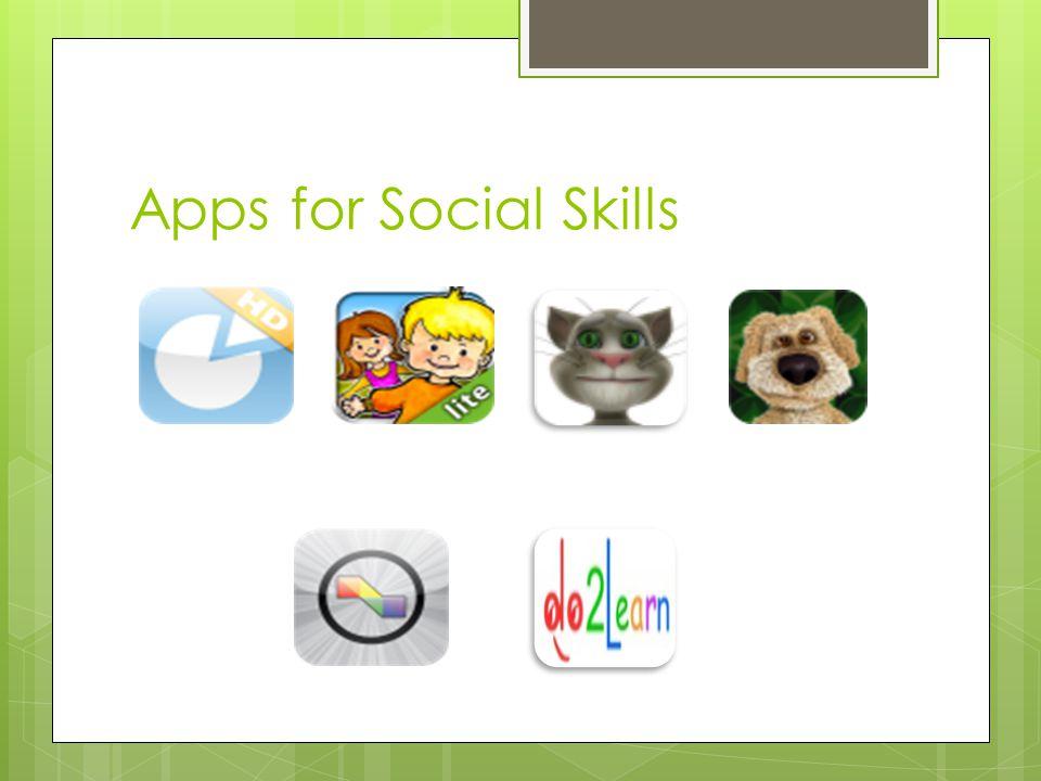 Apps for Social Skills