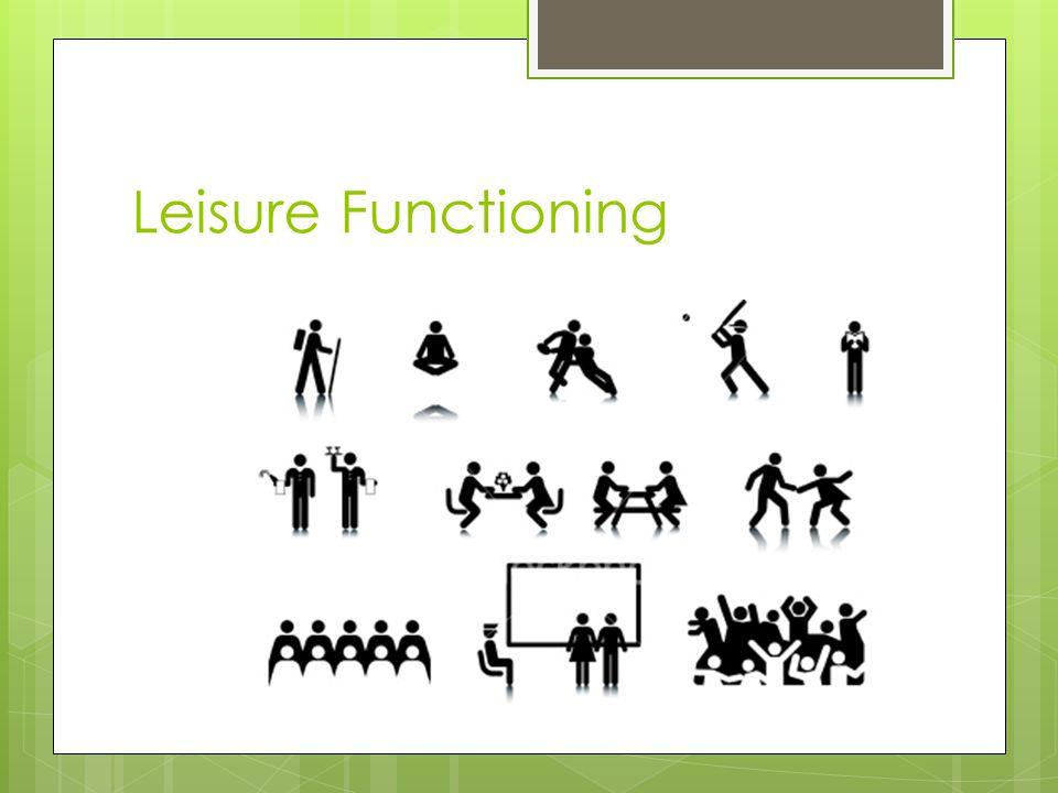 Leisure Functioning