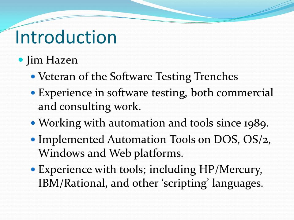 What 'Test Automation' Really Is Automation definition Webster's – the technique of making an apparatus, a process, or a system operate automatically In Software Testing we use 'tools' to drive our processes People only think of tools that execute a test as 'Automation'.