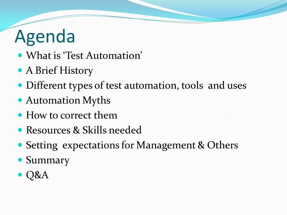 Remember… It's automation, Not Automagic!