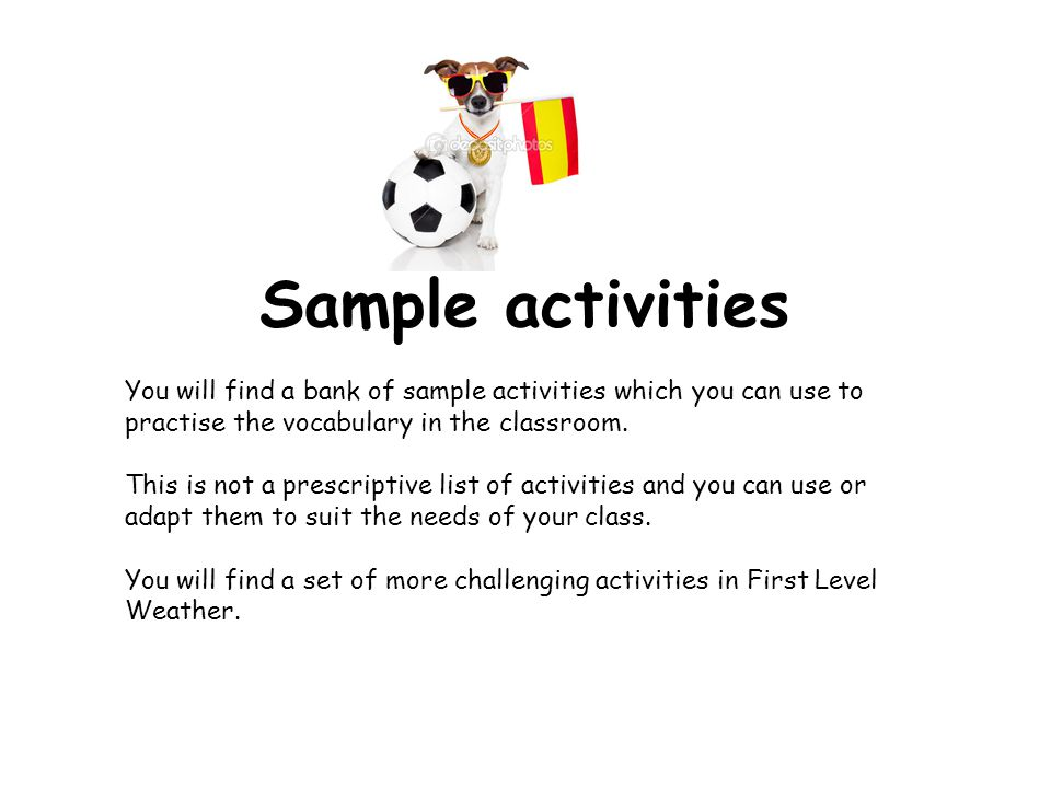 Embedding the language Ask what the weather is like/ Season in Spanish at the start of everyday along with the date.