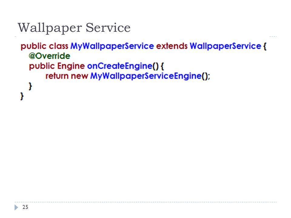 Wallpaper Service 25