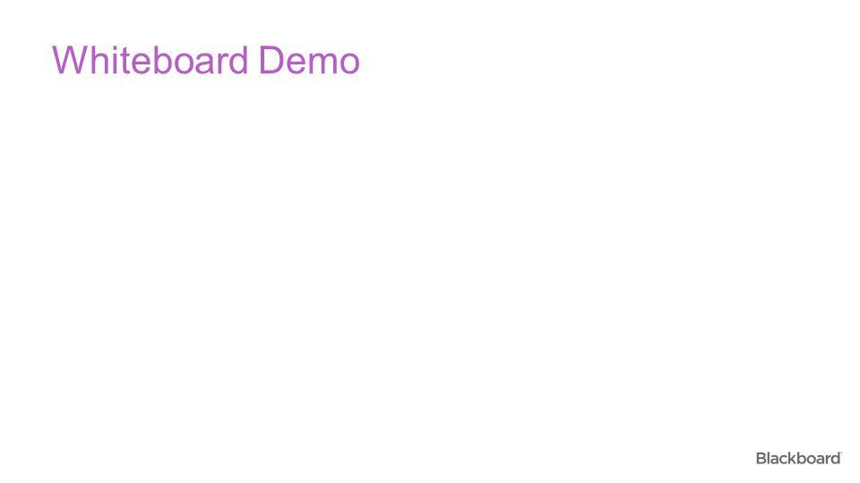 Whiteboard Demo