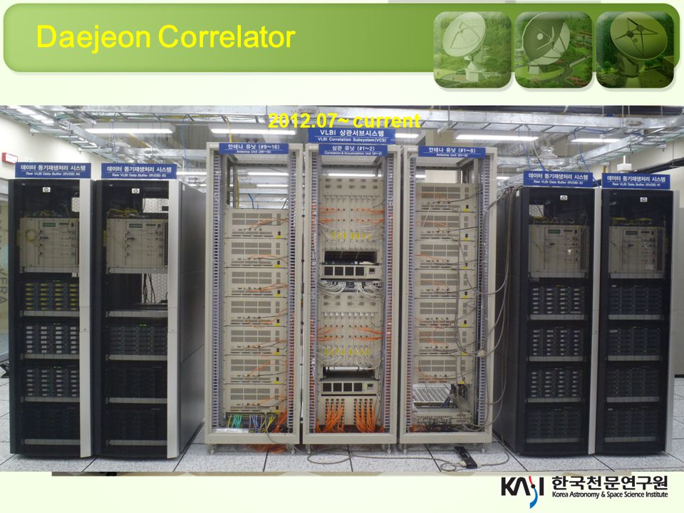 Daejeon Correlator 2012.07~ current