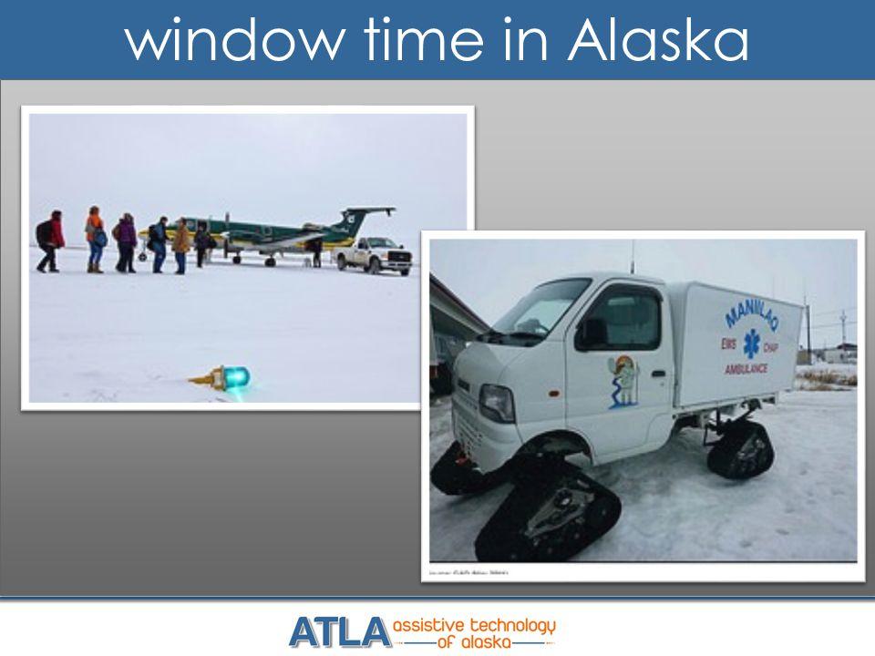 window time in Alaska