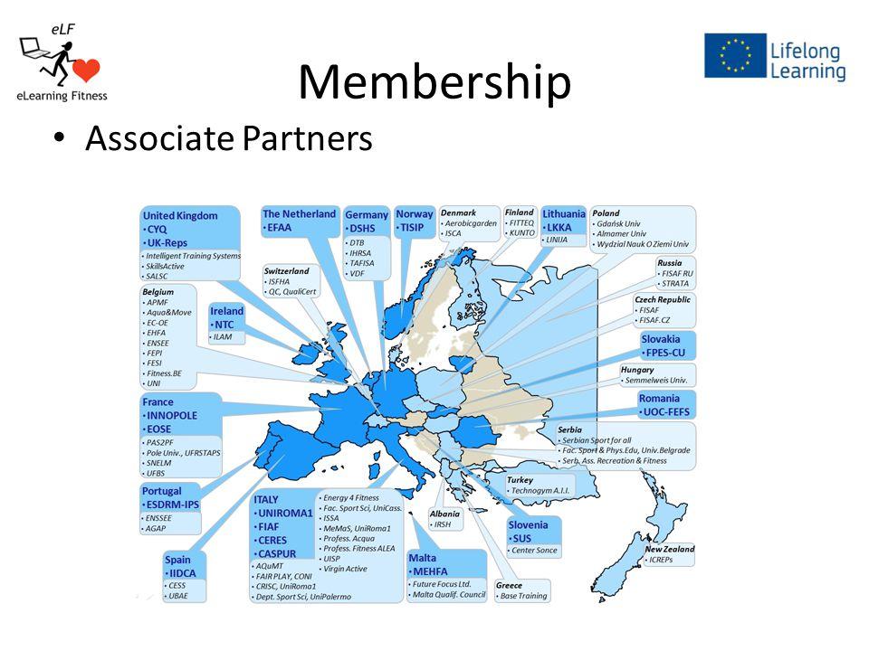 Membership Associate Partners