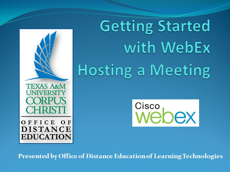 Presented by Office of Distance Education of Learning Technologies