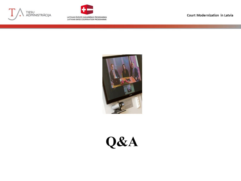 Court Modernization in Latvia Q&A