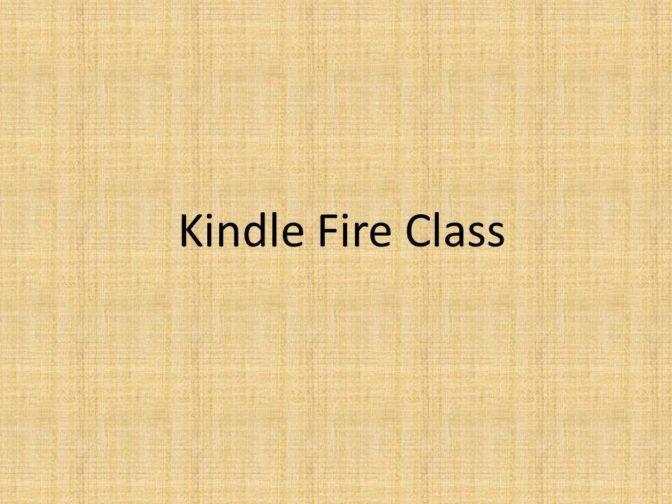 Kindle Fire Class