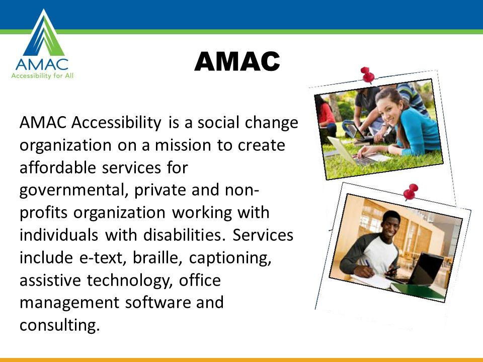 CONSIDERING ACCESSIBILITY
