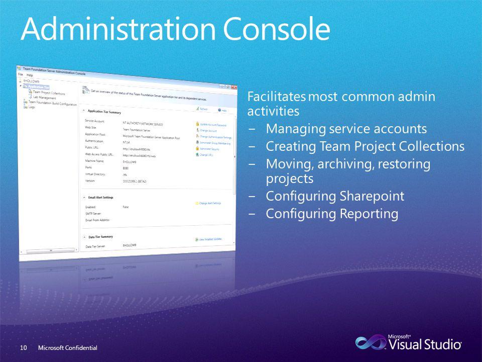 Microsoft Confidential10